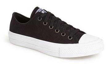11ece127 Tenis de lona en negro y blanco de Converse, $39 | Nordstrom ...