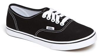 ... Tenis de lona en negro y blanco de Vans ... 1d5d0f0387f