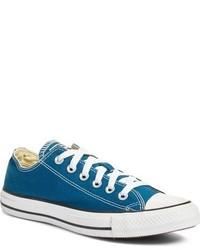 Tenis de lona en verde azulado de Converse
