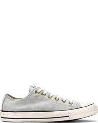 Tenis de lona grises de Converse