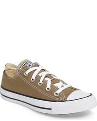 Tenis de lona marrónes de Converse