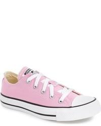 Tenis de lona rosados de Converse