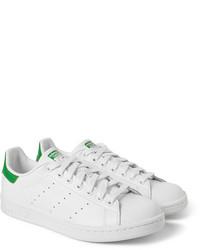zapatillas adidas verdes y blancas