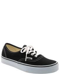 Tenis en negro y blanco de Vans
