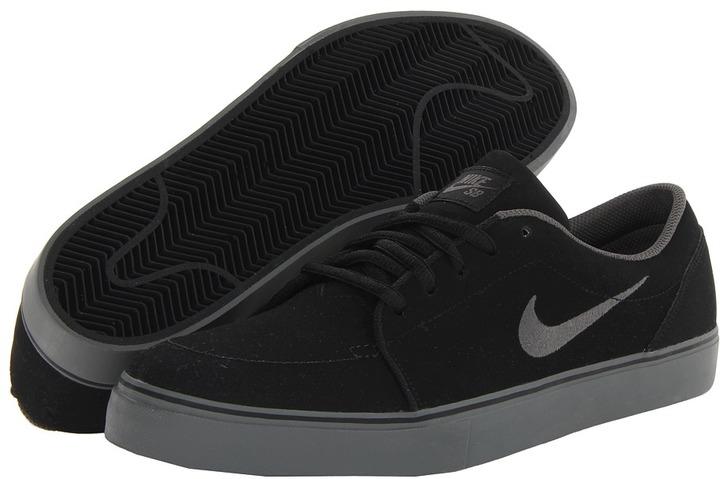 zapatillas negras nike sb