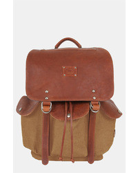 Will Leather Goods Lennon Backpack Beige