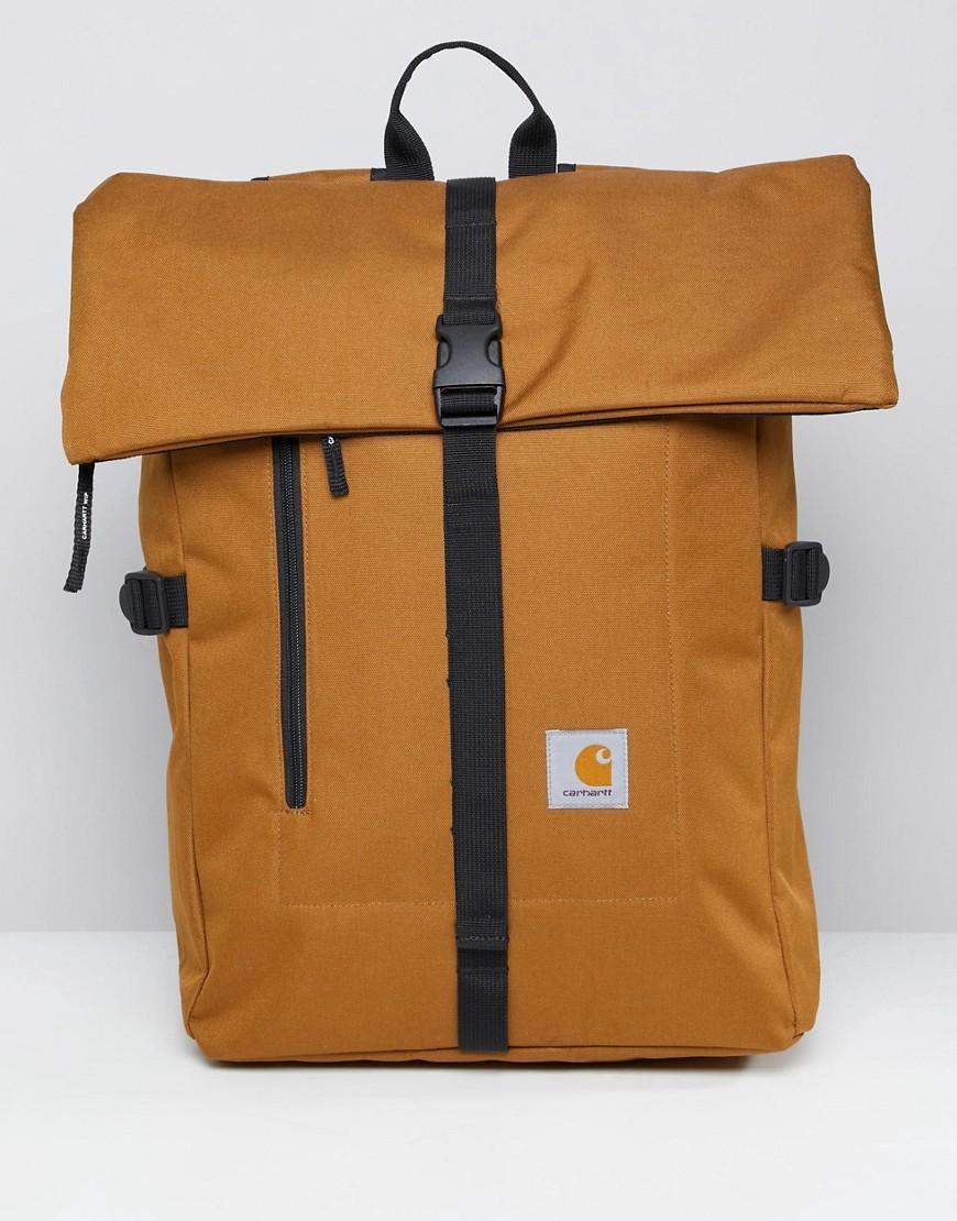 ... Carhartt WIP Phil Backpack In Brown