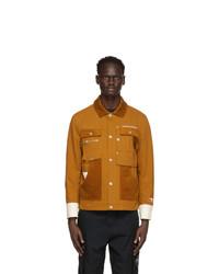 Li-Ning Brown Hexagon Work Jacket