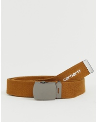 Carhartt WIP Orbit Belt In Brown