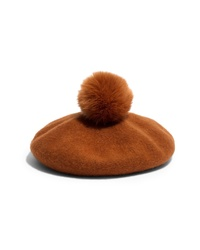 Madewell Faux Pom Beret