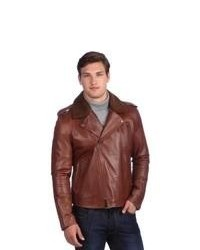 Tobacco biker jacket original 8635105