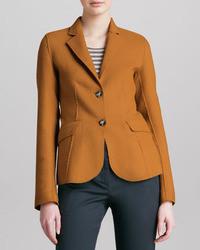 Armani Collezioni Double Face Sport Wool Jacket
