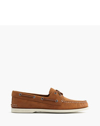 J.Crew Sperry For Authentic Original 2 Eye Broken In Boat Shoes