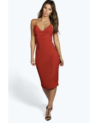 Tobacco Bodycon Dress