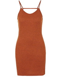 Topshop Strappy Back Bodycon Dress