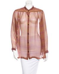 Silk blouse w tags medium 717312