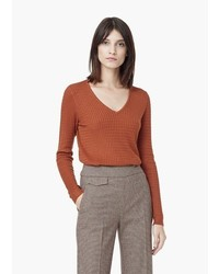 Cable knit sweater medium 374788