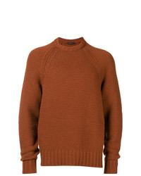 Prada Long Sleeve Fitted Sweater