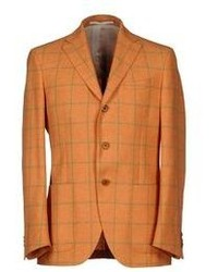 Tobacco Check Blazer