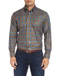 Robert Talbott Anderson Classic Fit Check Cotton Sport Shirt