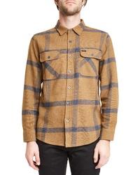 Brixton Bowery Plaid Flannel Shirt