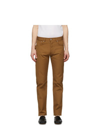 Bottega Veneta Brown Canvas Worker Trousers
