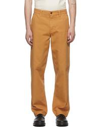 Nudie Jeans Brown Lazy Leo Trousers