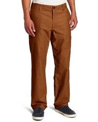 Dockers Dockers Off The Clock Khaki D2 Straight Fit Flat Front Pant