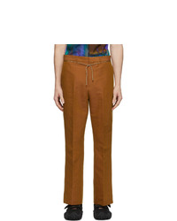 Acne Studios Orange Bootcut Trousers