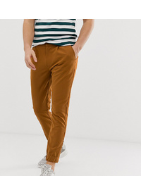 Collusion Smart Skinny Trouser With Elasticated Cuff