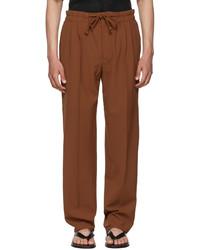 Nanushka Tan Nile Trousers