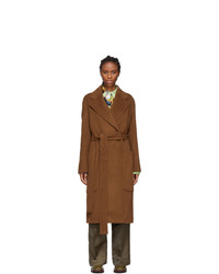 Acne Studios Brown Carice Double Coat
