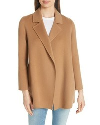 Clairene new divide wool cashmere coat medium 8652326