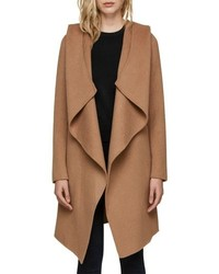 Soia & Kyo Hooded Wool Blend Coat