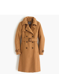 Icon trench coat in italian wool cashmere medium 366205
