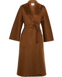 Labro oversized cashmere coat brown medium 3700890