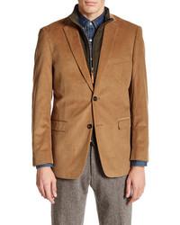 U.S. Polo Assn. Tan Corduroy Two Button Notch Lapel Jacket