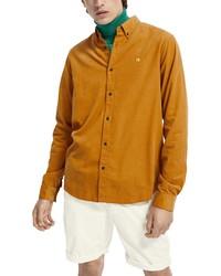 Scotch & Soda Regular Fit Corduroy Shirt