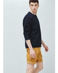 Mango Outlet Cotton Bermuda Shorts