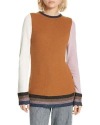 Apiece Apart Almeria Button Hem Sweater