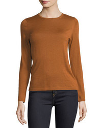 Cashmere collection modern superfine cashmere crewneck sweater medium 4948544