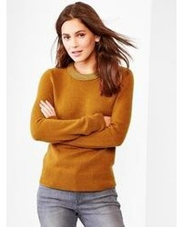 Gap Cozy Metallic Neck Sweater