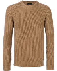 Roberto Collina Ribbed Crew Neck Jumper