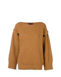 Erika Cavallini Ribbed Knit Sweater