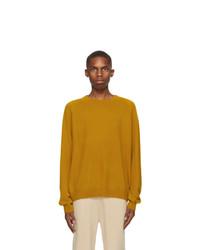 Frenckenberger Yellow R Neck Sweater