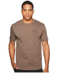 Brixton Wheeler Ii Short Sleeve Premium Tee T Shirt