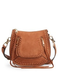 Rebecca Minkoff Mini Vanity Saddle Bag Red