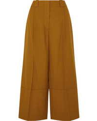 Marni Cropped Wool Wide Leg Pants