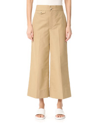 Wide leg cropped pants medium 3712337