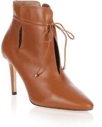 Murphy tan leather ankle boot medium 556130